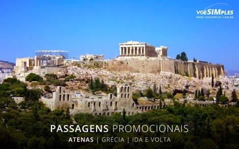 Passagem aérea para Atenas
