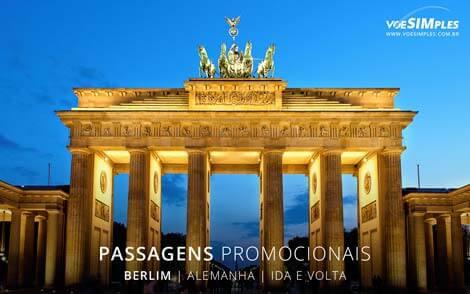Passagem aérea para Berlim