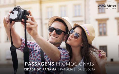 Passagem aérea para a Cidade do Panamá
