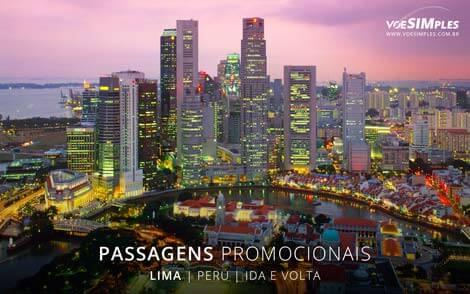 Passagem aérea para Lima