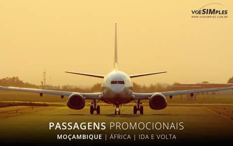 Passagem aérea para Moçambique