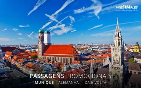 Passagem aérea para Munique