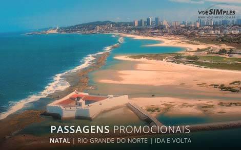 passagens aéreas para Natal origem São Paulo
