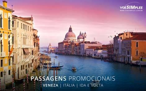Passagem aérea para Veneza