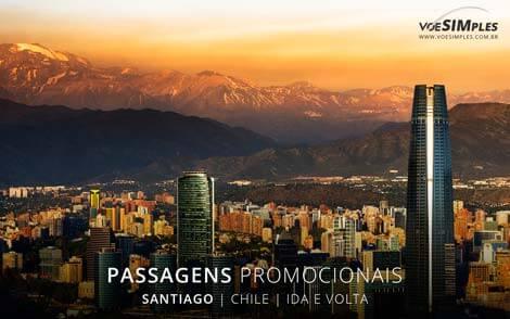 Passagem aérea para Santiago