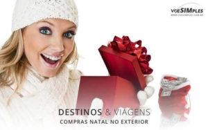 Melhores destinos para compras de Natal