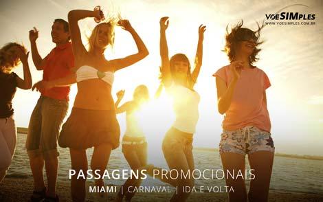 Passagens aéreas em promoções para Carnaval 2017