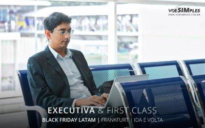 Passagem aérea Executiva Latam Black Friday