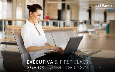 Passagem aérea executiva para Orlando