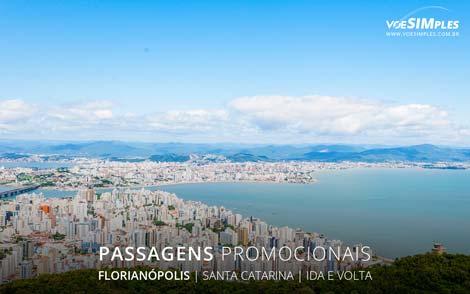 Passagem aérea para Florianópolis