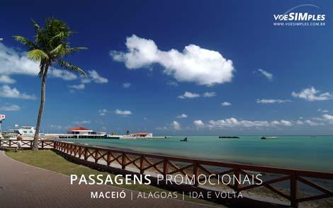 Passagem aérea para Maceió