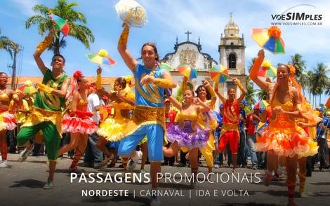 Passagem aérea feriado de Carnaval 2017