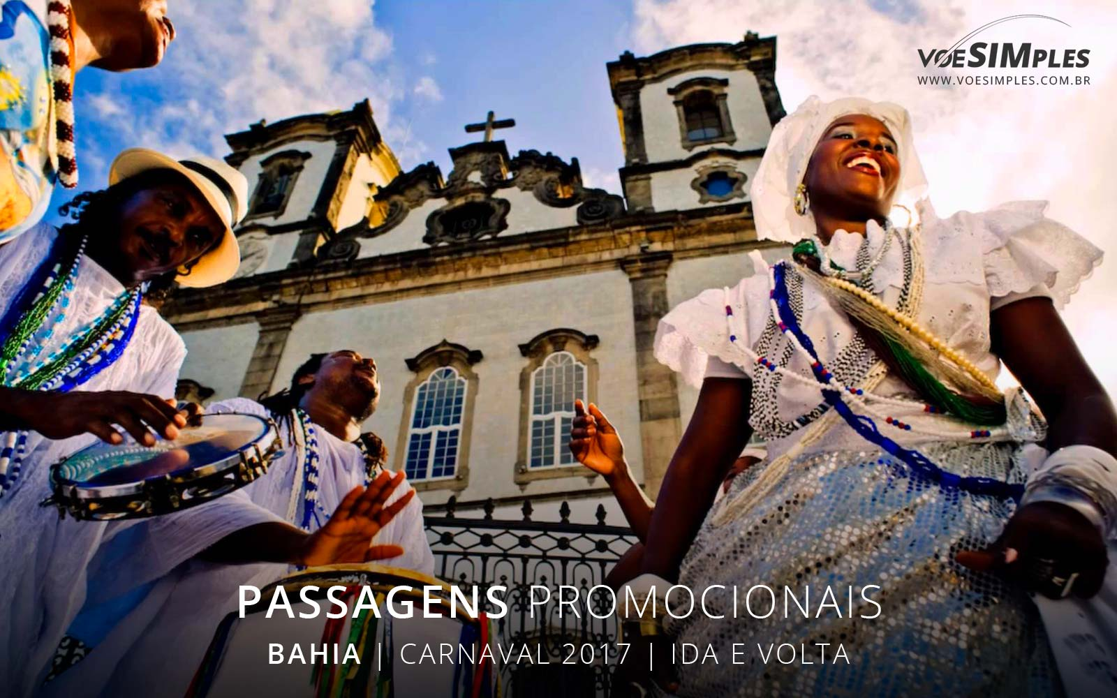 Passagens aéreas baratas para carnaval 2017