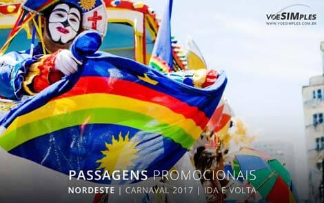 Preços de passagem aérea para Carnaval 2017