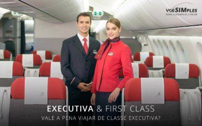 Vale a pena viajar na classe executiva