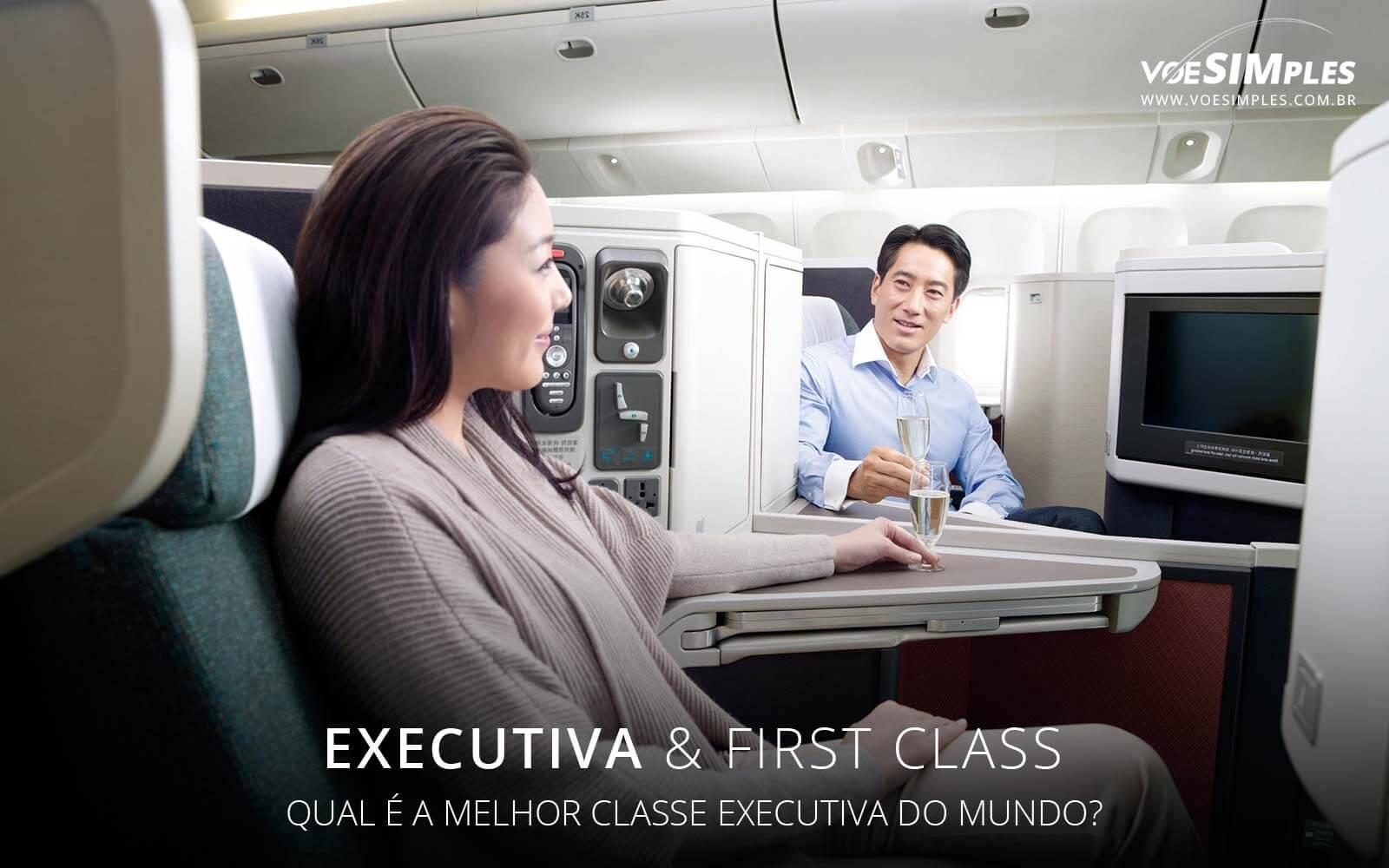 Melhor classe executiva do mundo