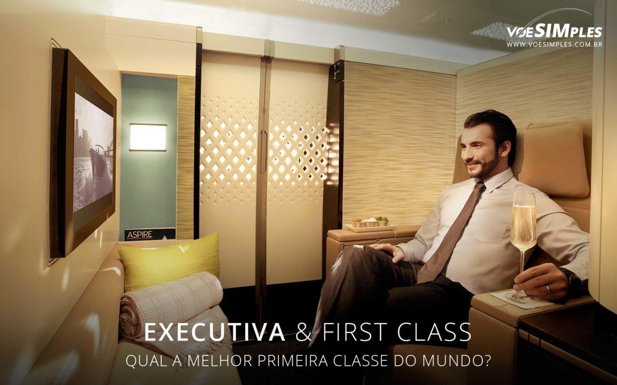 Melhor Primeira Classe (First Class) do mundo