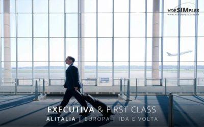 Passagem aérea executiva para Europa