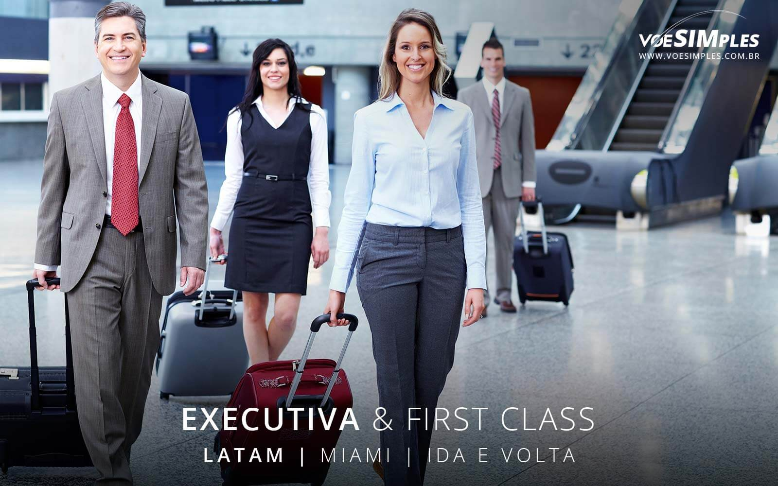 Passagem aérea executiva Miami