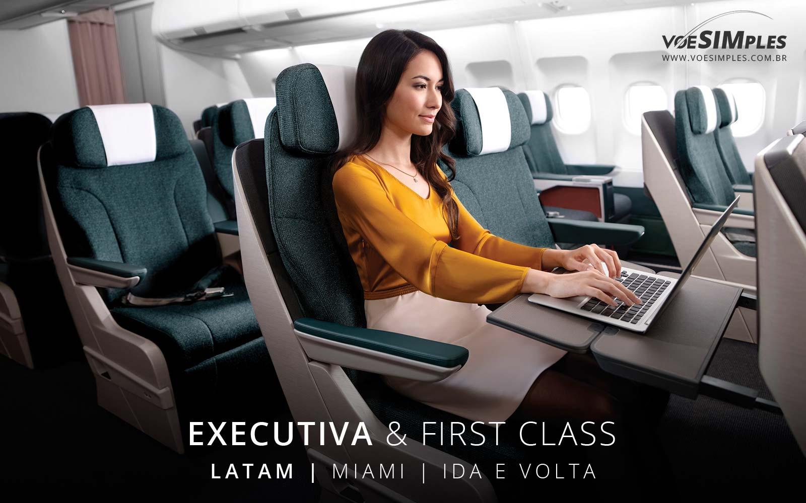 Passagem aérea Latam Executiva