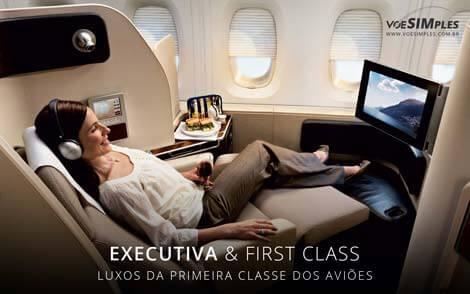 luxos da primeira classe