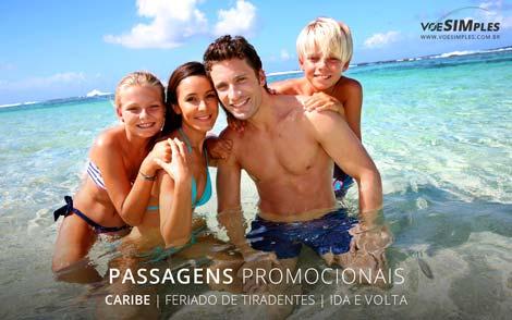 Passagens aéreas promocionais feriado de Tiradentes