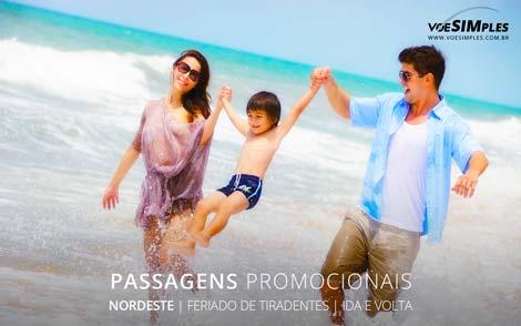 Passagem aérea feriado de Tiradentes