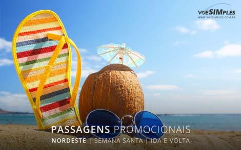 Passagens aéreas promocionais baratas semana santa 2017
