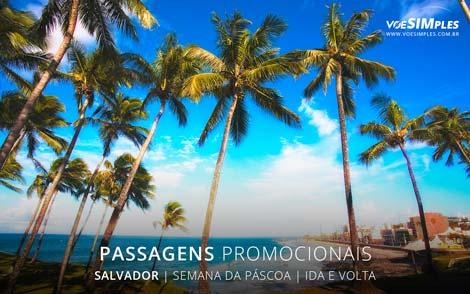Passagem aérea promocional para viagem de semana da páscoa