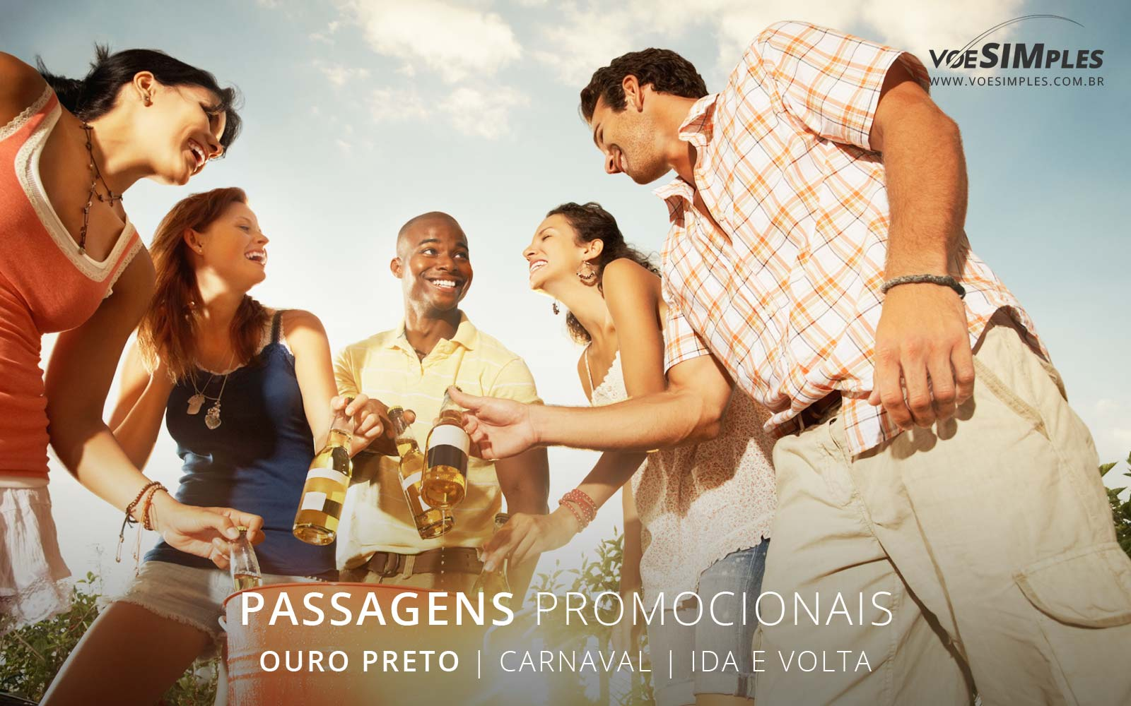 Passagem aérea promocional barata Carnaval 2017