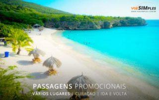 Passagem aérea Curaçao