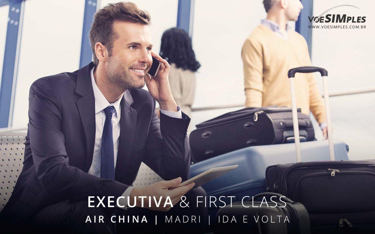 Passagem aérea classe executiva Air China