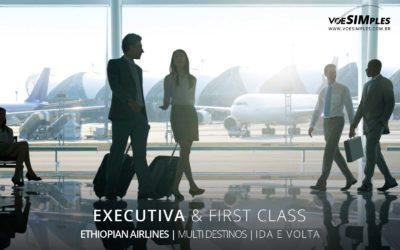Passagem aérea executiva Ethiopian