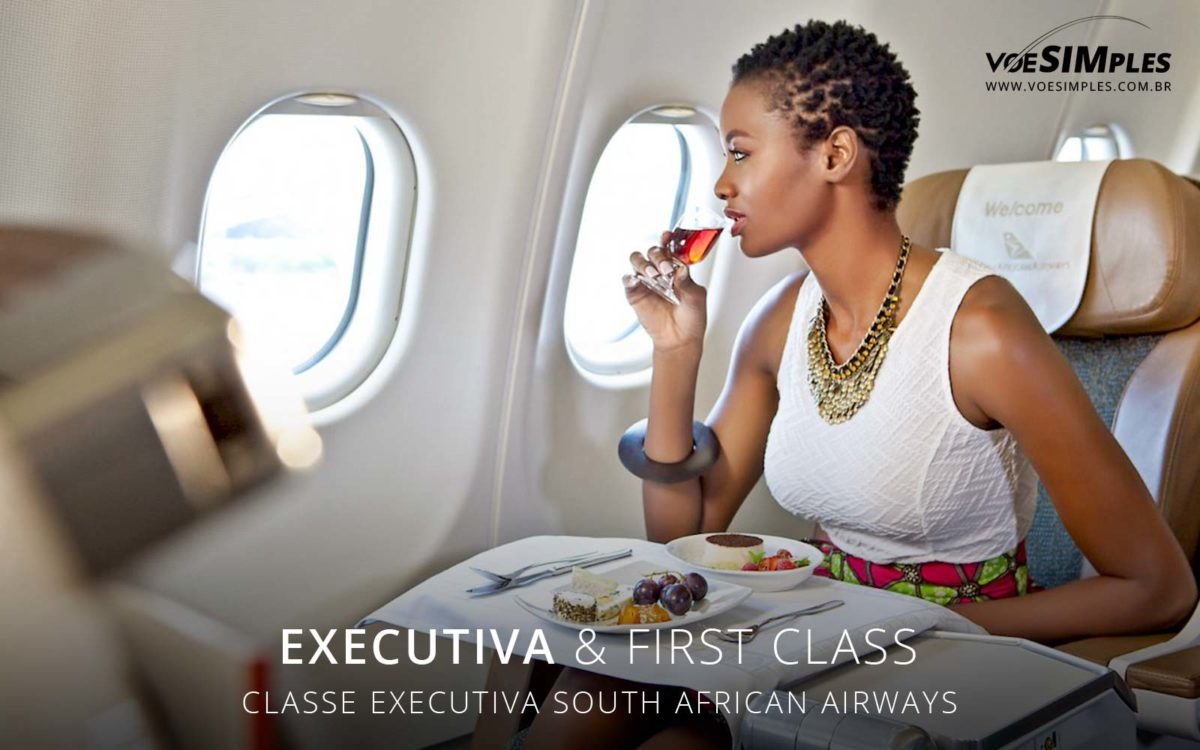 Classe Executiva South African Airways
