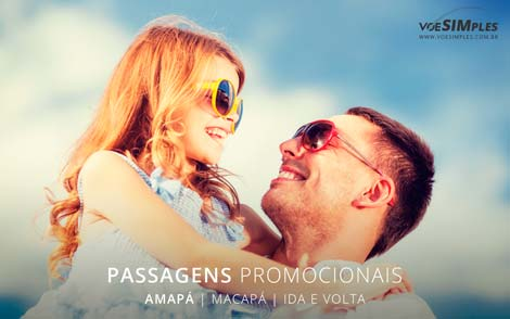 Passagem aérea promocional Macapá