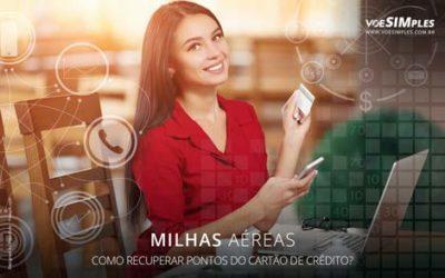 recuperar pontos do cartão de crédito