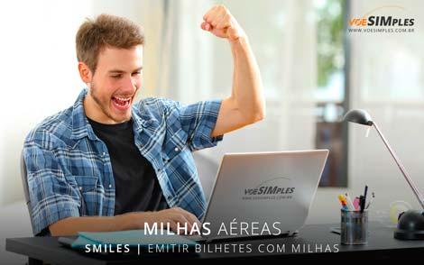 Emitir bilhetes com milhas Smiles