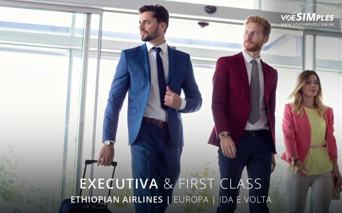 Passagem aérea classe executiva Ethiopian
