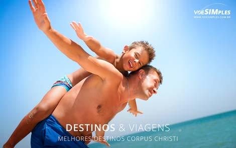 melhores destinos Corpus Christi