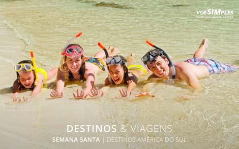 Melhores Destinos para Semana Santa na América do Sul