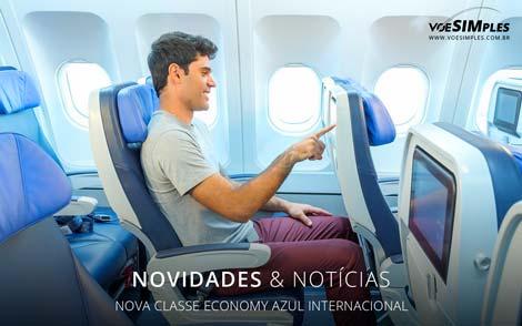 Classe Economy Azul
