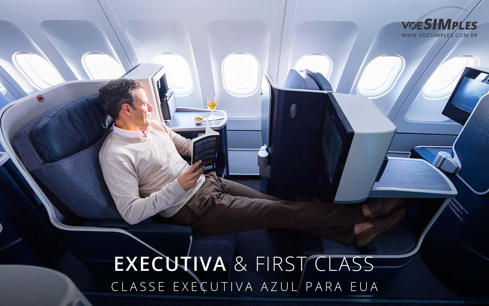 classe executiva azul