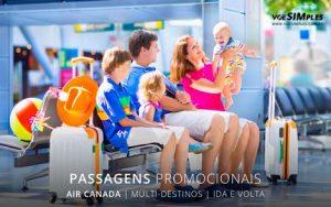 Passagem aérea promocional