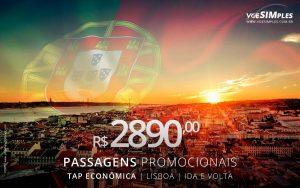 Passagem aérea econômica TAP
