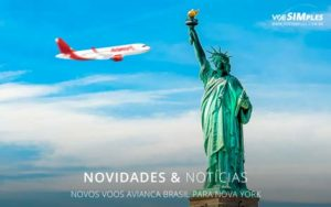 Novos Voos Avianca Brasil Nova York