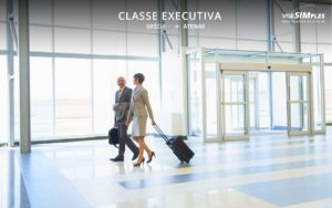 classe executiva Air Swiss