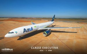 classe executiva Business Xtra Azul