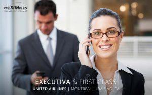 classe executiva United Airlines