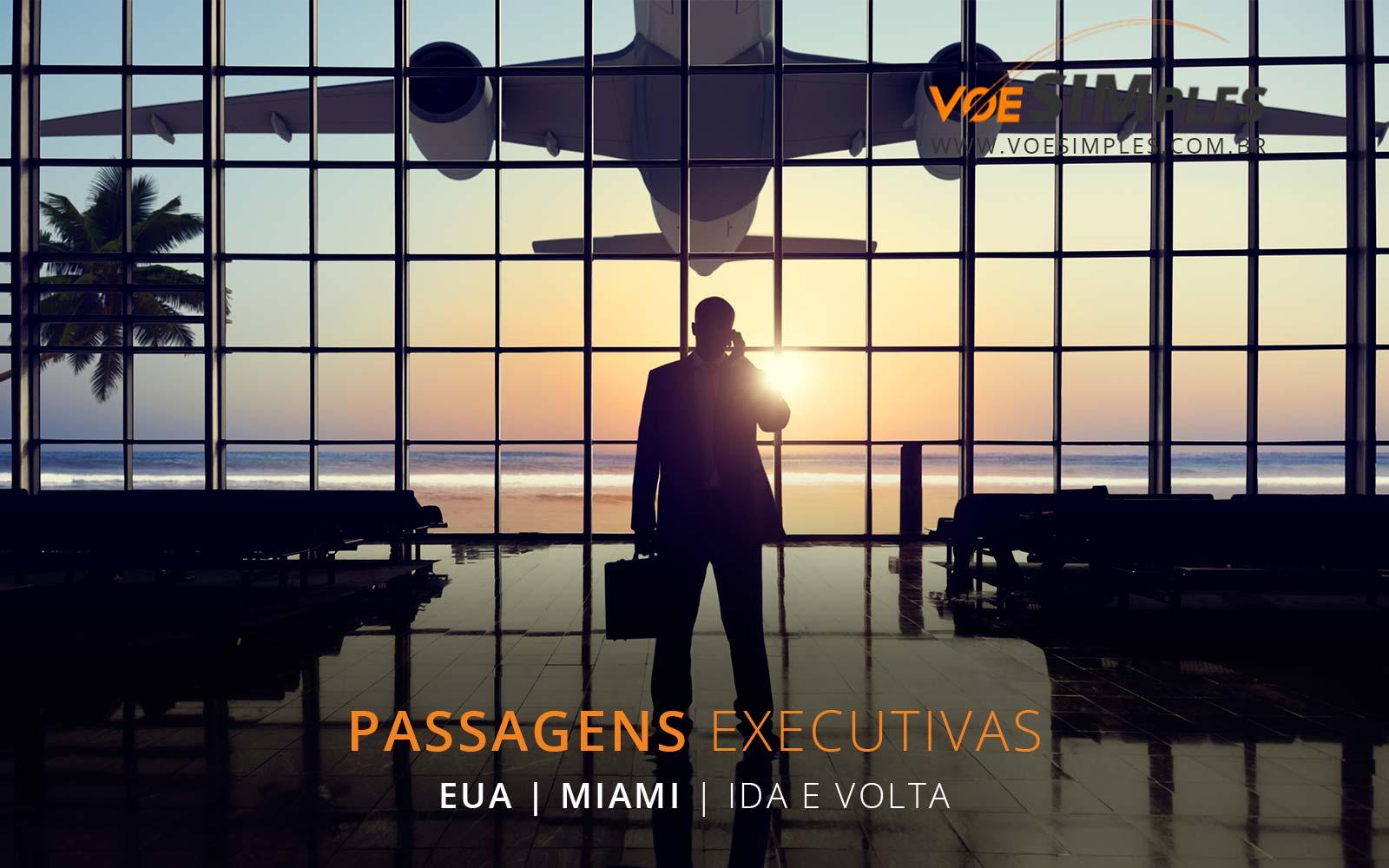 passagem aérea Classe Executiva Avianca, Combo e Taca para Miami
