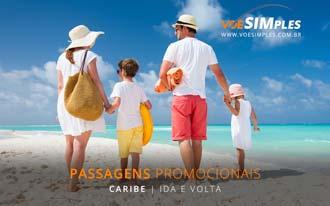Promoção voo ida e volta para o Caribe a partir de R$ 948,00
